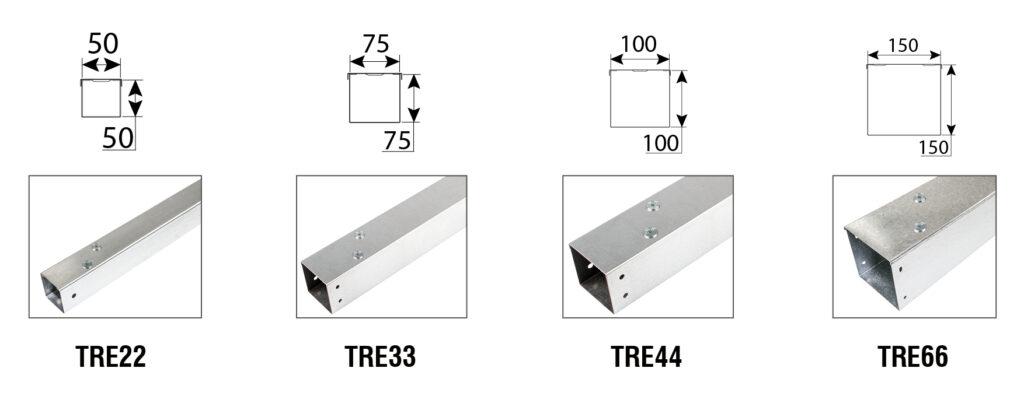 Steel Trunking Size 1.1